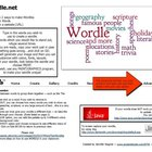 Wordle Help Sheet -- w/ font listing