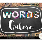 Words Galore: Center Activities!