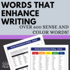 Words That Enhance Writing - Grades 6-12