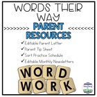 Words Their Way Parent Resources