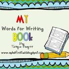 Words for Writing Book