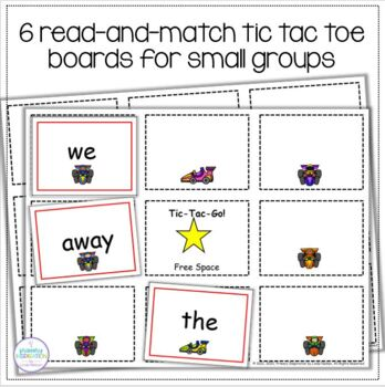 Words on the Go!: Sight Word Games