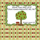 Words their Way Smart Board Letter Name 47 intro sort