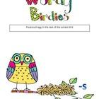 Wordy Birdies plural words