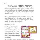 Work Jobs Assessment Tracking Label
