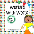 Work on Words Activity Cards and Printables - Working on Words