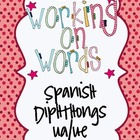 Working on Words Spanish Diphthongs ua/ue