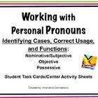 Working with Pronouns: Cases, Functions, and Usage Activity