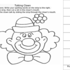 Working with Words - Talking Clown