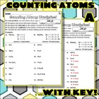 Worksheet: Counting Atoms 1
