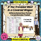 "Worksheets & Keys: Book, ""If You Traveled West in a Covere"