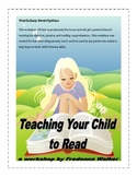 Workshop Packet: Teaching Your Child to Read