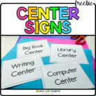 Workstation Signs (Center Signs)