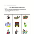 World Cup Spanish Picture Flash Cards & Games