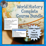 World History COMPLETE COURSE Curriculum