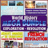 World History MEGA Bundle #2: Middle Ages to the Age of Ex