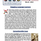 World Language Classroom Teaching Activities (03/2012)