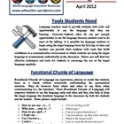 World Language Classroom Teaching Activities (04/2012)