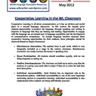 World Language Classroom Teaching Activities (May 2012)