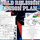 World Religions Lesson Worksheets Handouts Lesson Plan