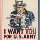 World War I Propaganda Posters Webquests and Lesson Plans