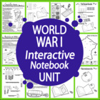 World War I Unit - Common Core