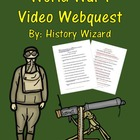 World War I Video Webquest (Great Lesson)