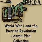 World War I and Russian Revolution Primary Sources Webques