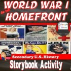 World War I on the Home Front: Lecture & Storybook (U.S. History)