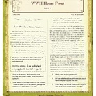 World War II Home Front Part 1: A Cross-Curricular Approach