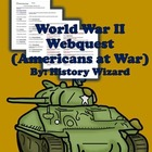 World War II Webquest (Great Website and Lesson Plan)