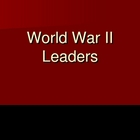 World War II leaders Review Powerpoint