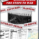 World War One Activities Package - The Steps to War