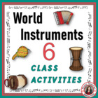 World music: World Instrument Activities