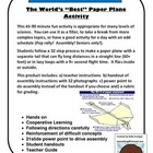 World&#039;s &quot;Best&quot; Paper Airplane Activity - Physics