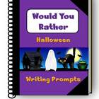 Would You Rather - Halloween Writing Prompts - Journal Pag