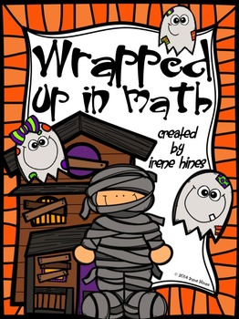 Wrapped Up In Math ~ Halloween Color By Number Code Addition Puzzle Printables