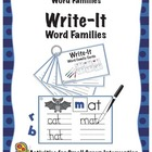 Write-It Phonics Cards for Word Families