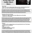 """Write Like Poe"" Short Story Assignment"