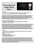 Write Like Poe Short Story Assignment