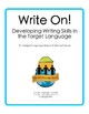 Write On! E-course- Teaching Writing in Foreign Language Class