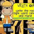 Write On! Sight Word Write the Room Centers and More