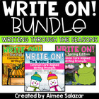 Write On!  The Bundle {CCSS Writing Prompts Through the Year}
