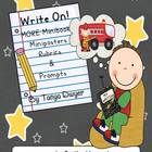 Write On...Mini-Books Freebie Extended