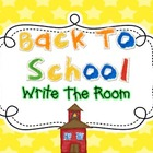 Write The Room Fun {Back To School}