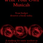 Write Your Own Musicals