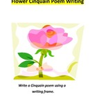 Write a Cinquain Flower Poem