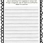 Write a Letter (Performance Indicator)