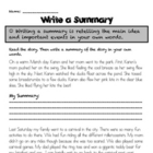 Write a Summary