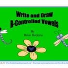 Write and Draw R-Controlled Vowels Pack